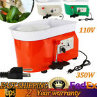 New 110V 350W 60db Small  Electric Pottery Wheel Pottery-type Casting Machine image