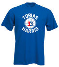 "Tobias Harris Philadelphia 76ers ""Logo"" T-Shirt on eBay"