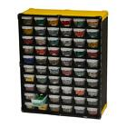 HARDWARE Small Parts Storage ORGANIZER Portable Cabinet Compartments Drawers