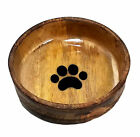 Advance Pet Products Wooden Dog Bowl For Food or Water