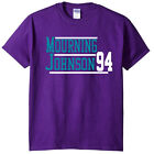 Alonzo Mourning Larry Johnson Charlotte Hornets 94 T-Shirt on eBay