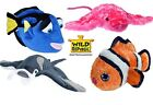 Large Wild Republic Animals Creatures Sea Fish Shark Plush Toys Educational  12""