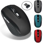 2.4GHz Wireless 2000DPI Cordless Optical Vogue Mouse USB Interface PC Laptop New
