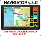 NAVIGATORE GPS NAUTICO CARTOGRAFICO PLOTTER DISPLAY 7,0