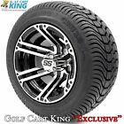"""Golf Cart Wheels and Tires - 10"""" Specter SS & (205/50-10 or 205/65-10) (x4)"""