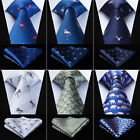 Animal Novelty Tie Mens Silk Necktie Pocket Square Set Classic Ties Wedding AN01 $10.6 CAD on eBay