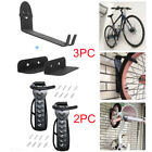 2 Style Bike Bicycle Storage Wall Mounted Mount Hook Rack Holder Hanger Stand