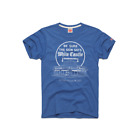 homage t-shirt White Castle hamburger blue men's vtg retro fast food  image