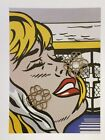 "VTG Art Print Roy Lichtenstein Pop Art Blonde Bombshell 9"" x 12"" *** SEE VARIETY"