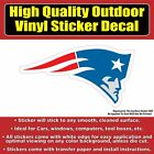 New England Patriots Red White Blue Vinyl Car Window Laptop Bumper Sticker Decal on eBay