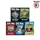 Dav Pilkey Dog Man Collection 6 Books Set Tale of Two Kitties, Brawl of the Wild