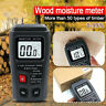 More images of Blesiya Wood Moisture Meter 2 Pins Timber Lumber Damp Humidity Detector Test