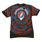 Liquid Blue Unisex Grateful Dead Songs T-Shirt - Steal Your Face Logo Tee image