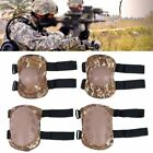 4X Knee Elbow Protective Pad Protector Gear Sport Tactical Airsoft Combat Skate
