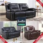 Henry Electric Recliner Leather Luxury Sofa Suite 3+2+1 LazyBoy Black Brown Grey