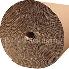 1000mm Wide CORRUGATED CARDBOARD PAPER ROLLS Postal Packaging Wrapping Parcels