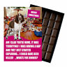 Funny Novelty Christmas Belgian Milk Chocolate Gift Box Present For Dog Owner UK