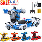 Toys for Kids Transformer RC Robot Car Remote Control 2 IN 1 Boy Baby Birth Gift
