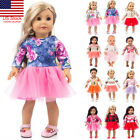 Kyпить US Cute Clothes Dress 18Inch Accessory Girl Toy Doll Accessory For Girl Doll на еВаy.соm