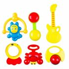 Handbells Toy Bed Bell Kids Animal Rattle Cute Infant Baby Plastic Toy Bebes Set