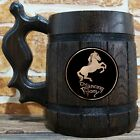The Prancing Pony Wooden Beer Mug, Lord Of The Rings Beer Gift, Hobbit Mug, LOTR