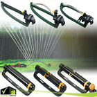 Oscillating Adjustable Lawn Sprinkler Water Sprayer Range Watering Garden Yard