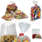Clear Polythene FOOD BAGS (200 Gauge) *ANY SIZE/QTY* Poly/Bag/Storage