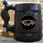 Philadelphia Eagles Wooden Beer Mug, American Football, Custom Beer Gift for Fan $26.99 USD on eBay