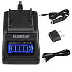 Kastar Battery LCD Quick Charger for SIGMA BP-51 & SIGMA dp2 Quattro Camera