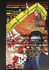 VTG Art Print Hundertwasser Color Litho Bookplate *** SEE VARIETY