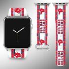 Boston Red Sox Apple Watch Band 38 40 42 44 mm Series 1 2 3 4 Wrist Strap 3 on Ebay