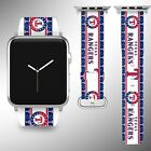 Texas Rangers Apple Watch Band 38 40 42 44 mm Series 1 2 3 4 Wrist Strap 3 on Ebay