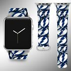 Tampa Bay Lightning Apple Watch Band 38 40 42 44 mm Series 1 2 3 4 Wrist Strap 1 $29.99 USD on eBay