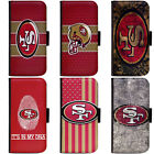 PIN-1 San Francisco 49ers Phone Wallet Flip Case Cover for All Models $13.49 USD on eBay