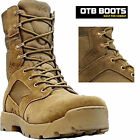 NEW MENS LEATHER DESERT ARMY COMBAT MILITARY TACTICAL WALKING HIKING BOOTS SHOES