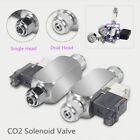 Magnetic Solenoid Valve Low Temp Regulator System Equip Cylinder CO2 Aquarium US