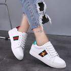 Women's Trainers Casual Small Bee White Sneakers Flat Running Sports Shoes UK