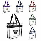 NFL CLEAR Messenger Tote Bag Purse Zipper -Meets Stadium Security Reqs  Approved on eBay