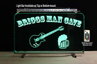 Custom Lighted Bar Sign with Guitar and Beer Mug,  Man Cave Sign