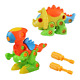 Dinosaurs Toys Assembly Disassembly Monoclonius Tyrannosaurus Take-apart Pull 3
