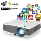 HD Video LCD WiFi Home Theater Projector Android Bluetooth Multimedia Movie HDMI