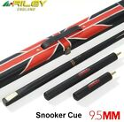 RILEY Ash Wood 3/4 Snooker Cue 9.5mm Tip 2 Extensions with Snooker Cue Case..... $208.61 USD on eBay