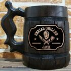 Serial Griller Beer Stein, Barbeque Accessory Beer Mug, BBQ Gift Ideas