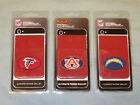Football Sticker Wallet - Atlanta Falcons, Los Angeles Chargers, Auburn Tigers $9.95 USD on eBay