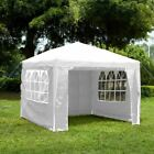 Купить Gazebo Marquee Party Tent With Sides Waterproof Garden Patio Outdoor Canopy 3x3m