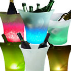6 Colors LED Light Ice Bucket Champagne Wine Drinks Beer Ice Cooler Bar Party 5L
