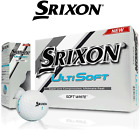 SRIXON ULTISOFT GOLF BALLS MENS WHITE SRIXON GOLF BALLS * NEW * DOZEN - NO BOX