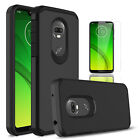 For Motorola Moto G7 Power/Supra/Optimo Maxx/G7 Play Case Cover/Screen Protector