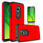 For Motorola Moto G7 Power/G7 Supra Shockproof Case Cover With Screen Protector