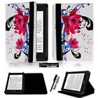 Folio Stand Leather Cover Case For Amazon kindle 4/5/7/8/9 Paperwhite 1/2/3/4 <br/> For Amazon kindle &amp; kindle Paperwhite